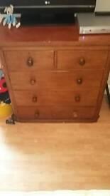 Solid wood antique furniture