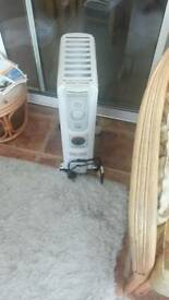 Electric oiil heater