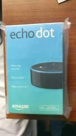 Amazon Echo dot new boxed