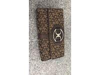 Genuine dkny leather purse
