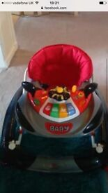 Baby 2-1 walker & rocker