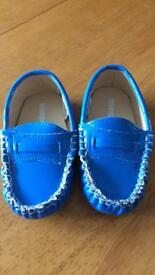 BOYS BABY/TODDLER TRUMPETTETOO MOCCASINS SIZE 18-24 MONTHS NEW