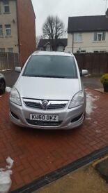 Vauxhall Zafira 1.9 CDTI Design 7 Seater. Excellent spec.