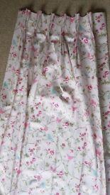 Pink Children's Room Curtains