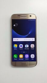 samsung s7, 32gb Gold Unlocked Good condition