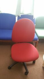 I have for sale 2 revolving computer office chairs in great condition @ £10.00 each