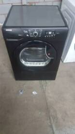 BLACK HOOVER 8KG CONDENSOR DRYER WITH 3 MONTHS GUARANTEE