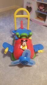 mickey mouse plain