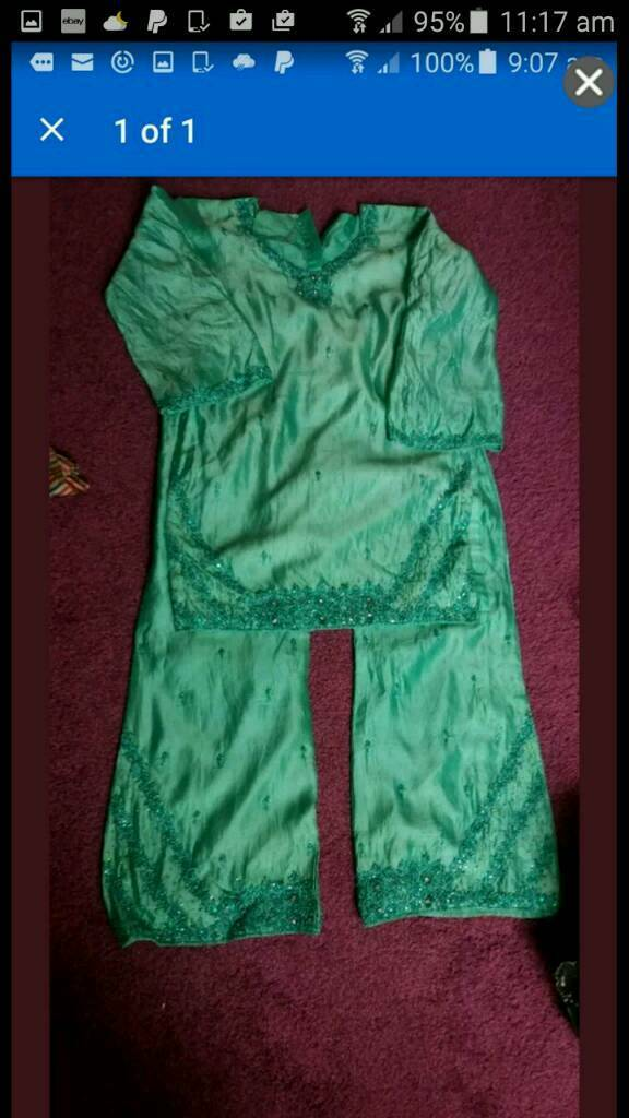 women size 19 two piece shalwar kameez