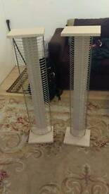Pair of CD rack