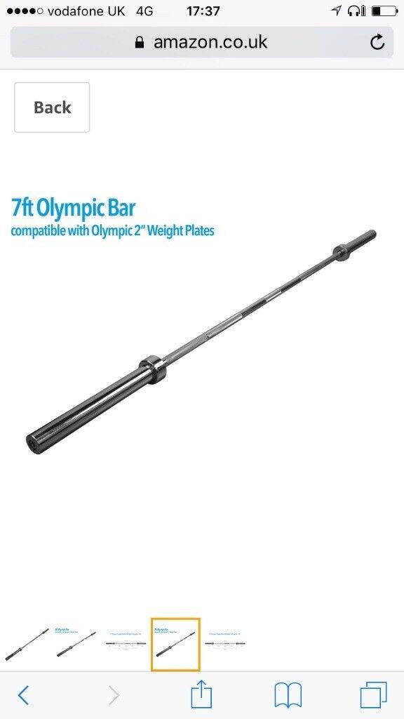 Brand new 7ft olimpic bar.
