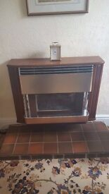 Baxi Bemuda super central heating gas fire