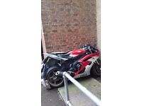 Yamaha r6 for sale red white an black excellent condition bought from new 2015 plate .