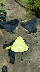 Camping stools ×3