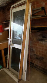 Double glazed 2 panel door with frame, sill and keys. Good condition Must collect – Leicestershire