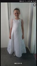 Brand new holy communion dress and accessories