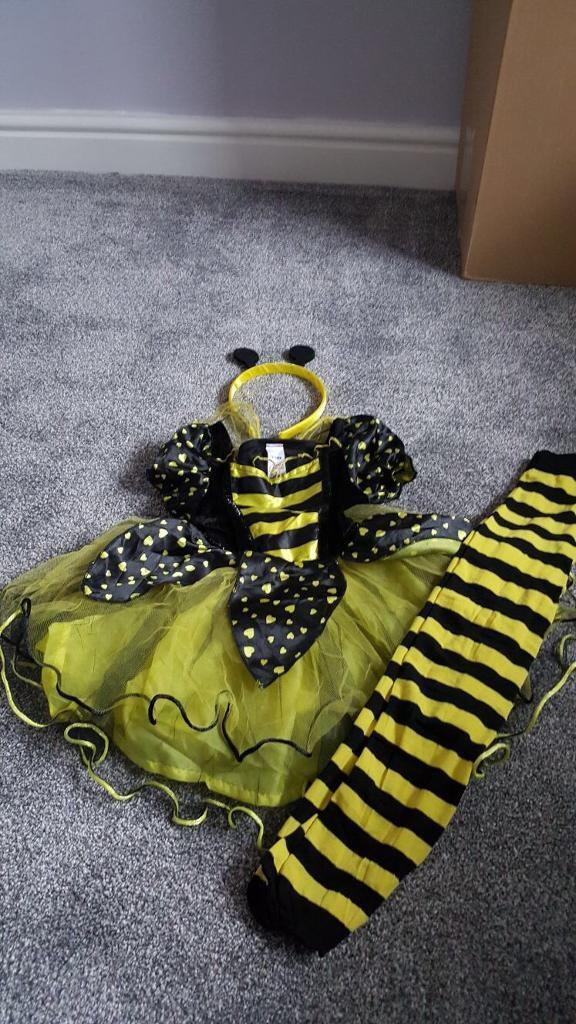 Bumble Bee Halloween Outfit 12-18m
