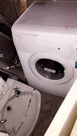 Used beds 5 doors and a kitchen sink washing machine