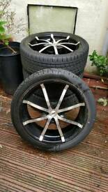 """18"""" TSW Alloy Wheels"""