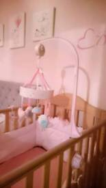 Cot mobile Mothercare excellent condition