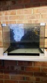 Used small fish tank
