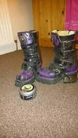 New Rock Boots size 4