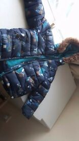 Lovely boys blue warm coat age 1.5-2 years
