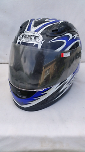 Full Face Helmet. No strap. Scuffed in couple of  places. Norwood Norwood Area Preview