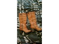 Knee high boots size 5