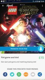 Starwars lego ps4 game
