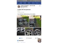 Vw Alloy Wheel's