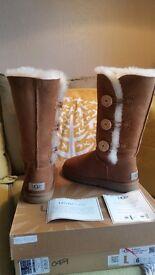 *BNIB*Genuine Ugg boots size 4.5