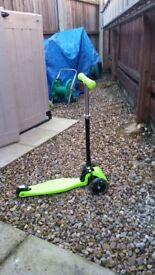 Light up 3 Wheel Scooter