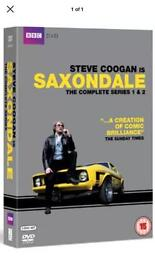 The complete series 1&2 saxondale DVD Boxset new £ sealed