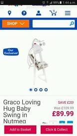 Hedgehog Graco Swing
