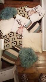 10 cushions - 5 pairs