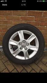 215/55/16 Genuine Audi A3 Alloy Wheel