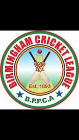 BATSMAN REQUIRED BIRMINGHAM PARKS LEAGUE CRICKET PLAYERS WANTED