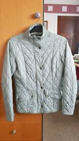 Ladies Barbour Jacket, Duck Egg in colour, Size 10