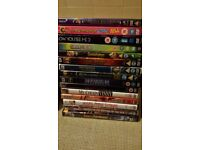 MIX OF DVDS X 15 . if reading this they will still be for sale