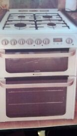Ultima Hotpoint Cooker Gas Hob and Electric Oven New never used
