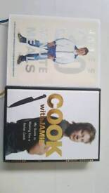 2 x Jamie Oliver cookbooks - never used