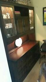 Prior Dresser Display Cabinet- new price