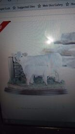 A9631 charolais cow and calf brand new still boxed library photo