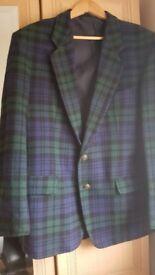 Gents tartain jacket