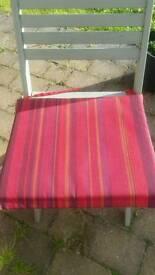 Garden chair seat pads