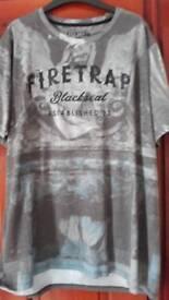 2 Fire Trap T-shirts
