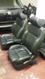 Golf mk4 4dr heaten leather seats and arm rest