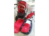 Bugaboo Cameleon 2 with footmuff and umbrella