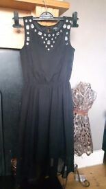Black party dress by julien macdonalds